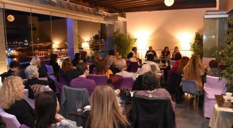 """Παρουσιάστηκε το νέο βιβλίο της Μαρίας Αρφέ """"Νεφέλη"""" στον Βόλο (εικόνες)"""