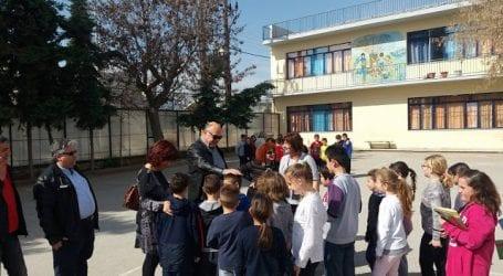 To 18o Δημοτικό Σχολείο Βόλου επισκέφθηκε ο Αχιλλέας Μπέος