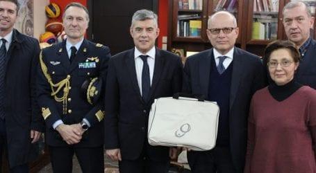 Συνάντηση του Περιφερειάρχη Θεσσαλίας με τον Πρέσβη της Ιταλίας στην Ελλάδα