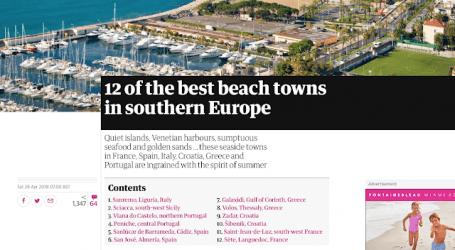 Στις 8 καλύτερες πόλεις της Ν. Ευρώπης ο Βόλος σύμφωνα με τον Guardian