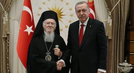 Συνάντηση του Οικουμενικού Πατριάρχου με τον Πρόεδρο της Τουρκικής Δημοκρατίας
