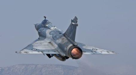 Πτώση μαχητικού αεροσκάφους Mirage 2000-5 στη Σκύρο