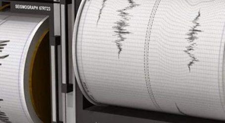 Σεισμός στο Πήλιο (χάρτης)