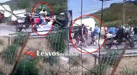 Επεισόδια μεταξύ μεταναστών στη Μόρια με τραυματίες