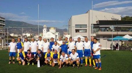 5ος φιλικός αγώνα ποδοσφαίρου Γερμανία – Ελλάδα 60+ στον Βόλο