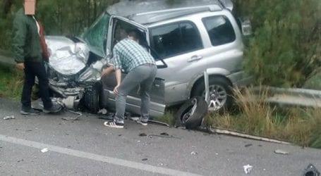 Τροχαίο ατύχημα στον Σωρό