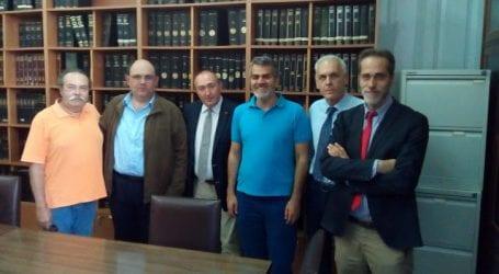 Συνάντηση Δικηγορικού Συλλόγου Βόλου με στελέχη του Ε.ΠΑ.Μ.