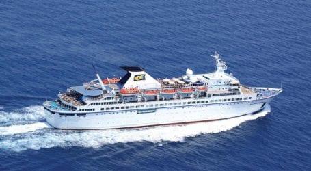 Kρουαζιερόπλοιο με 400 επιβάτες στο λιμάνι του Βόλου