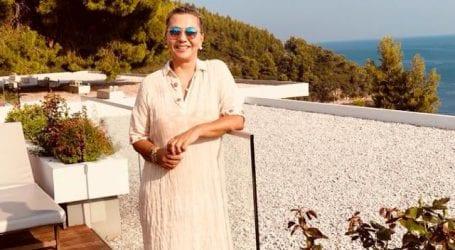 Διακοπές στη Σκιάθο για τη Ζέττα Μακρή