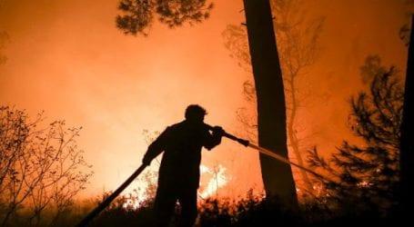 Σε εξέλιξη πυρκαγιά στη Ζάκυνθο