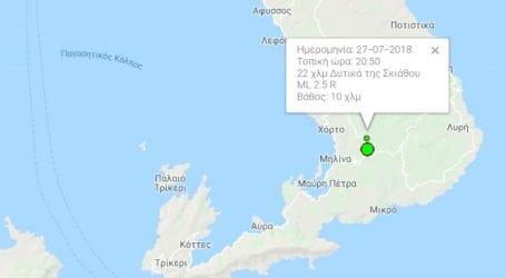 Δύο σεισμοί στη Μηλίνα (χάρτης)