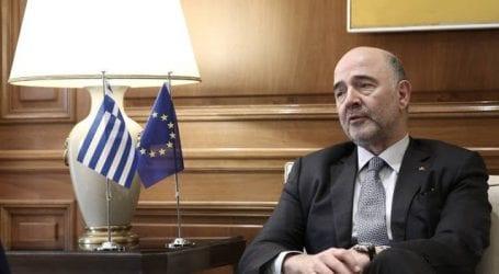 Μοσκοβισί: Οι Έλληνες θα δουν τώρα ότι άξιζαν οι κόποι τους