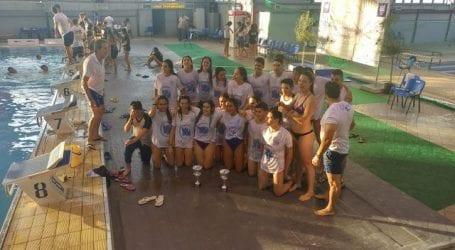 Πρωταθλήτρια Ελλάδος στα Age Group η Νίκη Βόλου στο πανελλήνιο κολύμβησης