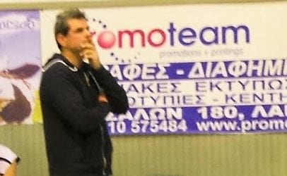 Ο Κώστας Δέρβος νέος προπονητής στον Ολυμπιακό Βόλου