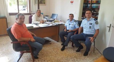 Εθιμοτυπική επίσκεψη του Γενικού Περιφερειακού Αστυνομικού Διευθυντή Θεσσαλίας στον Δήμαρχο Αργιθέας