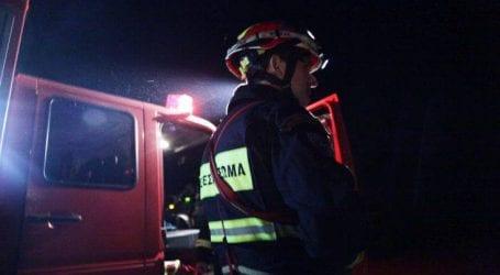 Υπό μερικό έλεγχο φωτιά στο Ολυμπιακό Μουσείο Θεσσαλονίκης