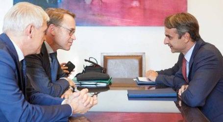 Το σχέδιο της ΝΔ για την οικονομία στη συνάντηση Μητσοτάκη-Βάιντμαν