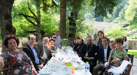 Η γιορτή του τέως Υπουργού Σωτήρη Χατζηγάκη