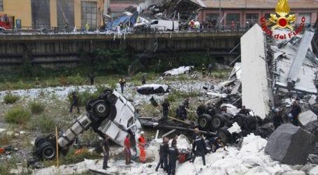 Μεγαλώνει η τραγική λίστα των νεκρών από την κατάρρευση γέφυρας στη Γένοβα