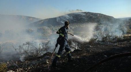 Υπό πλήρη έλεγχο η φωτιά στα όρια των νομών Χανίων και Ρεθύμνου
