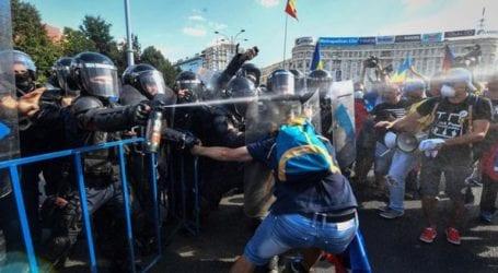 Ρουμανία: Εκατοντάδες τραυματίες σε συμπλοκές διαδηλωτών και αστυνομικών