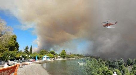Μεγάλη πυρκαγιά στην Εύβοια