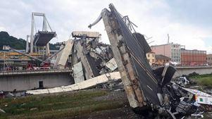 Στους 40 ανέρχεται ο αριθμός των επιβεβαιωμένων νεκρών από την κατάρρευση της οδογέφυρας στη Γένοβα