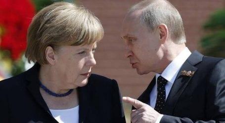 Ολοκληρώθηκε η τρίωρη συνάντηση Μέρκελ- Πούτιν