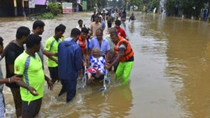 Σε 357 ανήλθε ο απολογισμός των νεκρών από τις πλημμύρες στην Κεράλα