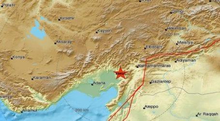 Σεισμική δόνηση 4,8 R στην Τουρκία