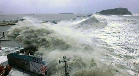 Σε συναγερμό ενόψει της επέλασης του ισχυρού τυφώνα Lane