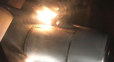 Μηχανή αεροσκάφους παίρνει φωτιά εν πτήση στη Ρωσία