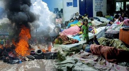 Εικόνες Ειδομένης στα σύνορα Βενεζουέλας
