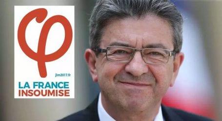 Το ελληνικό γράμμα «Φ» επέλεξε ως λογότυπο της «Ανυπότακτης Γαλλίας» ο Μελανσόν