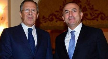 Συνάντηση Λαβρόφ-Τσαβούσογλου στη Μόσχα