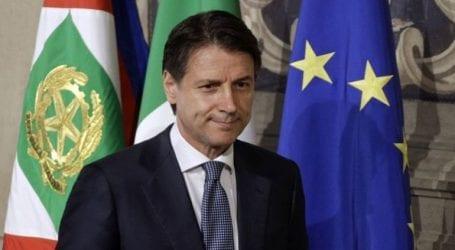Ο Κόντε κατακεραυνώνει την Ε.E. κατηγορώντας την για «υποκρισία» στο θέμα του πλοίου Diciotti