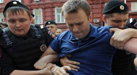 Συνελήφθη ο ηγέτης της αντιπολίτευσης Αλεξέι Ναβάλνι