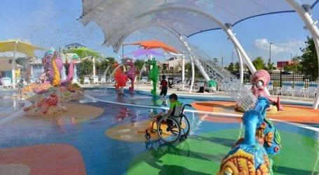 Το πρώτο πάρκο νερού στην Ευρώπη για παιδιά με ειδικές ανάγκες