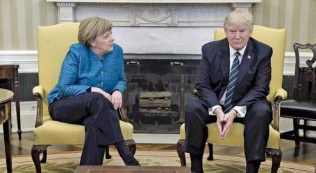 Επικοινωνία Μέρκελ – Τραμπ για τις εξελίξεις στη Συρία