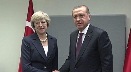 Τηλεφωνική επικοινωνία Μέι – Ερντογάν για οικονομικά θέματα και για τη Συρία