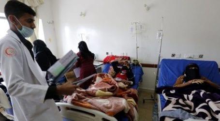 O αριθμός των ύποπτων κρουσμάτων χολέρας έχει αυξηθεί στην Υεμένη