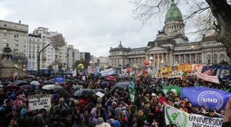 Διαδήλωση εναντίον των περικοπών στα δημόσια πανεπιστήμια