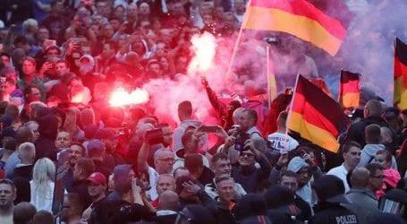 Xωρίς επεισόδια ολοκληρώθηκε η διαδήλωση στο Κέμνιτς