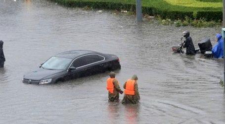 Iσχυρές βροχοπτώσεις πλήττουν την Κίνα