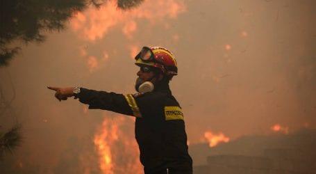 Οριοθετήθηκε η φωτιά σε αγροτική περιοχή στη Μόρια