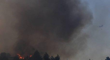 Πυρκαγιές καίνε περιοχές σε Εύβοια και Τύρναβο