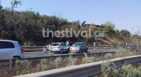 Τριπλή καραμπόλα στην Ε.O. Θεσσαλονίκης – Μουδανιών