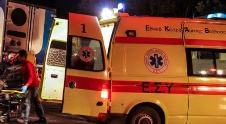 Στο νοσοκομείο τρία άτομα μετά από πυρκαγιά στα Μελίσσια