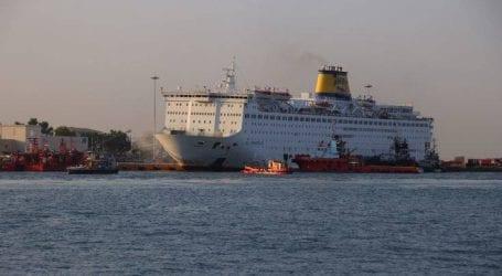 Έτσι είναι αυτή την ώρα το πλοίο Ελευθέριος Βενιζέλος μετά την πυρκαγιά