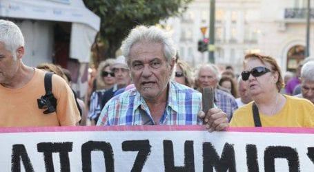 Συγκέντρωση διαμαρτυρίας των πυρόπληκτων της Ραφήνας και του Μαραθώνα